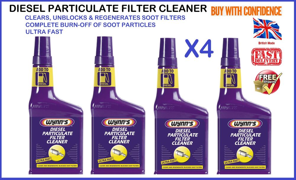4x wynns professional dpf diesel particulate filter 4 x wynns dpf diesel particulate filter soot cleaner 262