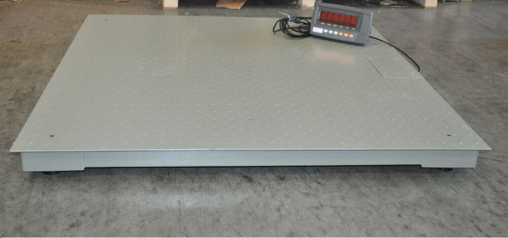 10 000 lbs capacity 1 lbs accuracy 4 39 x4 39 floor pallet for 10000 lb floor scale