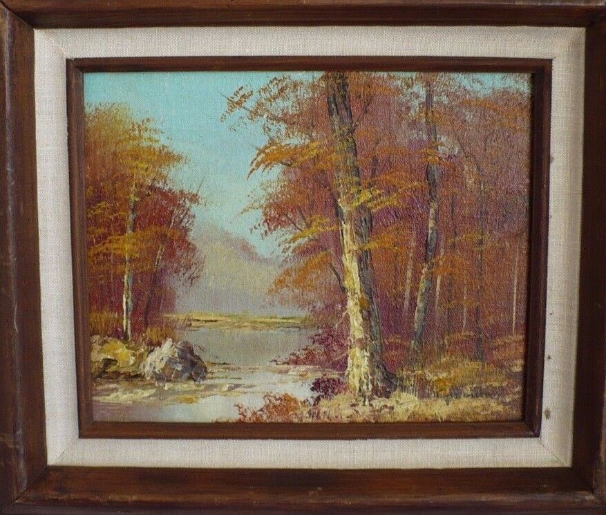 Framed Art Painting Ebay