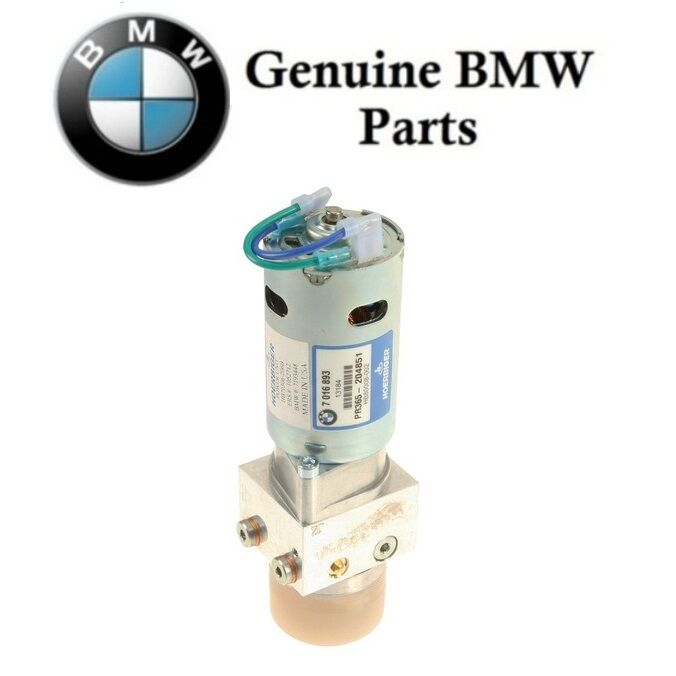 Bmw Z4 Hard Top: Genuine Hydraulic Pump For Convertible Top For BMW Z4 2003