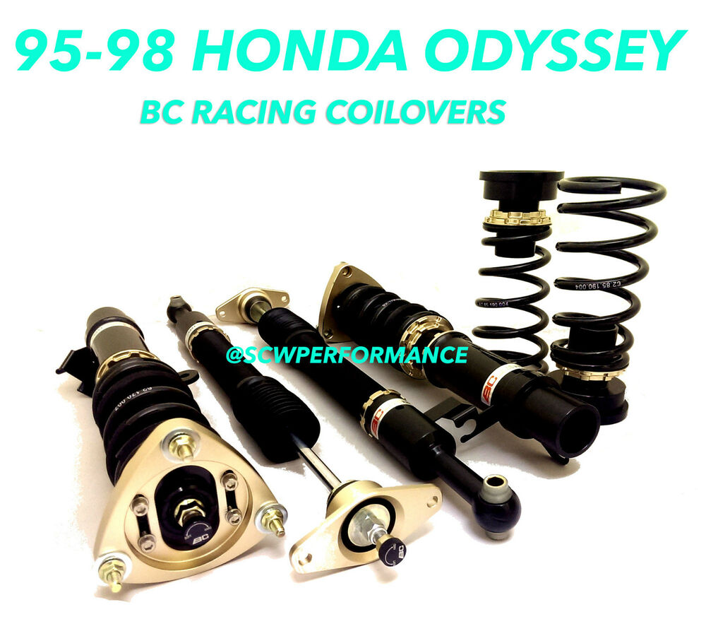 95 98 Honda Odyssey Ra1 Bc Racing Adjustable Coilovers