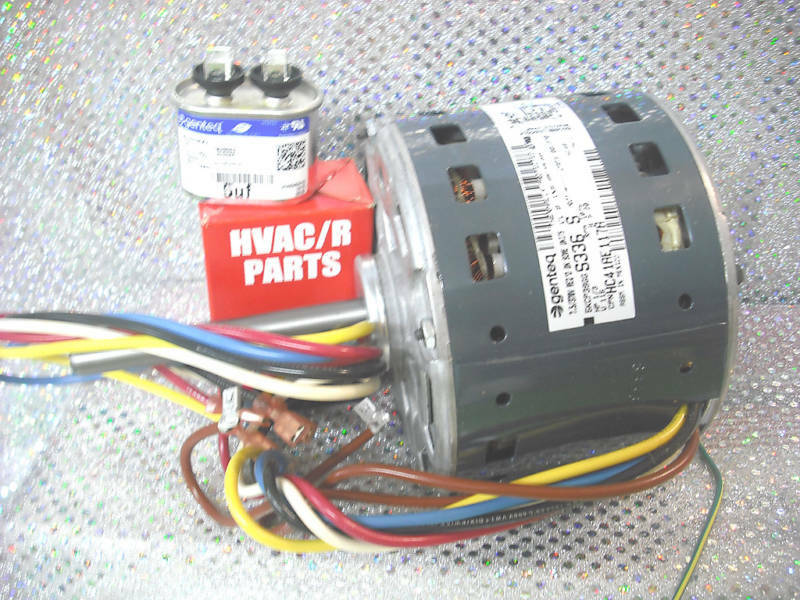 carrier furnace blower motor 1 3hp 4 speed 115 volts ebay