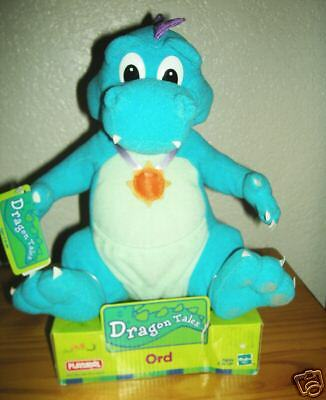 dragon tales ord plush doll new in the box greatgift ebay