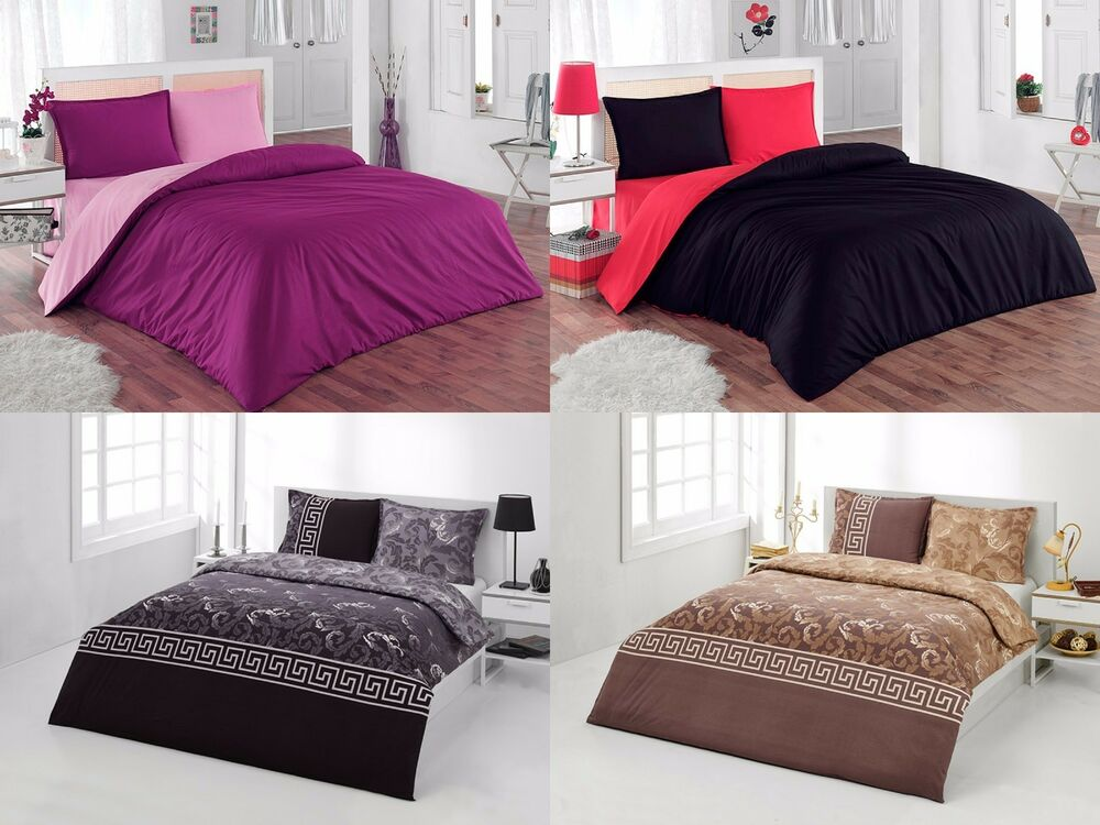 Duvet Cover Amp Pillow Sham Set 3 Piece Soft Bedding Set