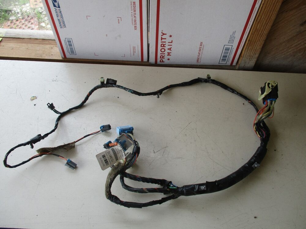 2004 Suburban 1500 Center Console Wire Wiring Harness