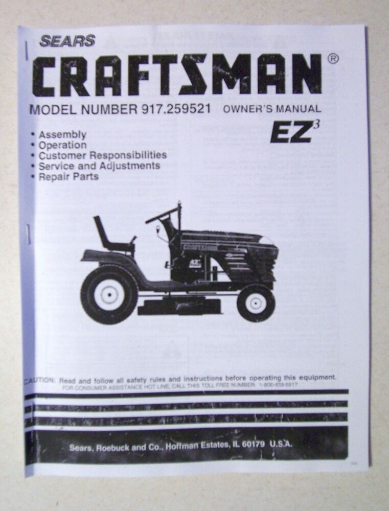 Lawn tractor Owners Manual Yt4500