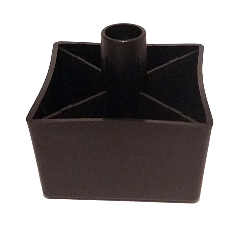 Ikea kivik replacement black plastic leg part 121236 ebay - Replacement chair leg tips ...