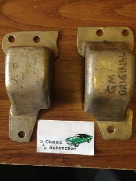 GM Original Frame Mounts 69 Camaro 69-70 Nova 3980941 ...