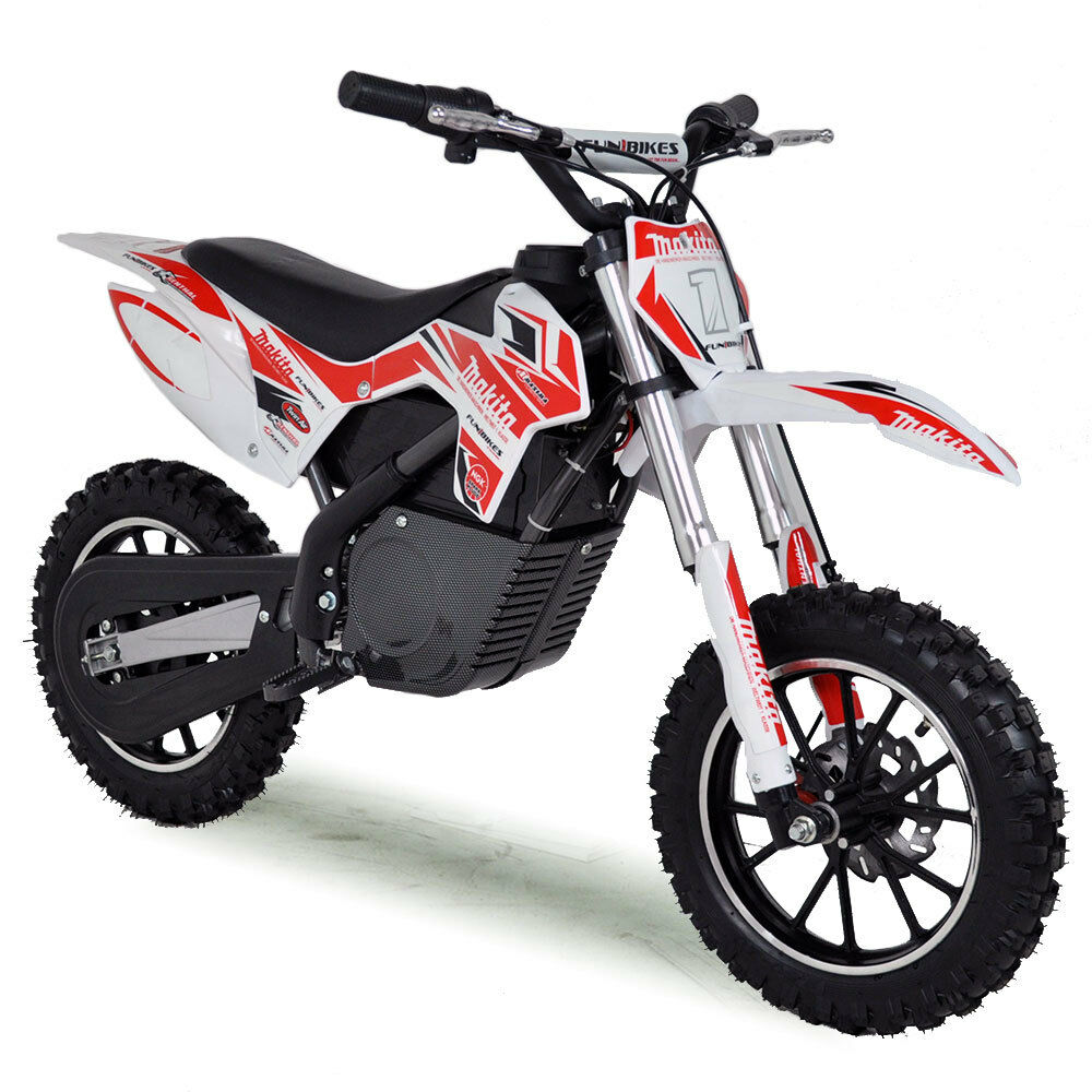 mini dirt bike electric funbikes mxr 36v 500w kids. Black Bedroom Furniture Sets. Home Design Ideas