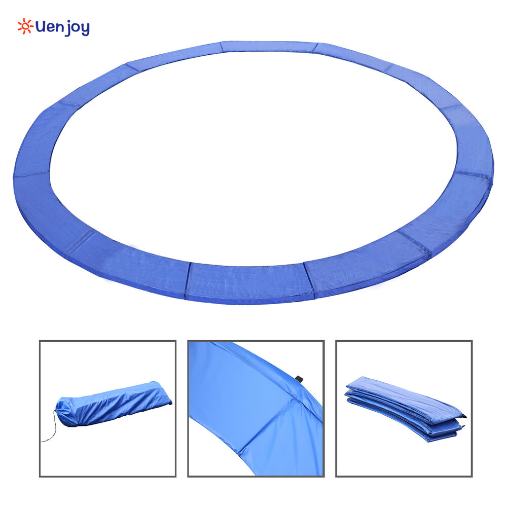 15FT Trampoline Safety Pad Spring Round Frame Pad Cover