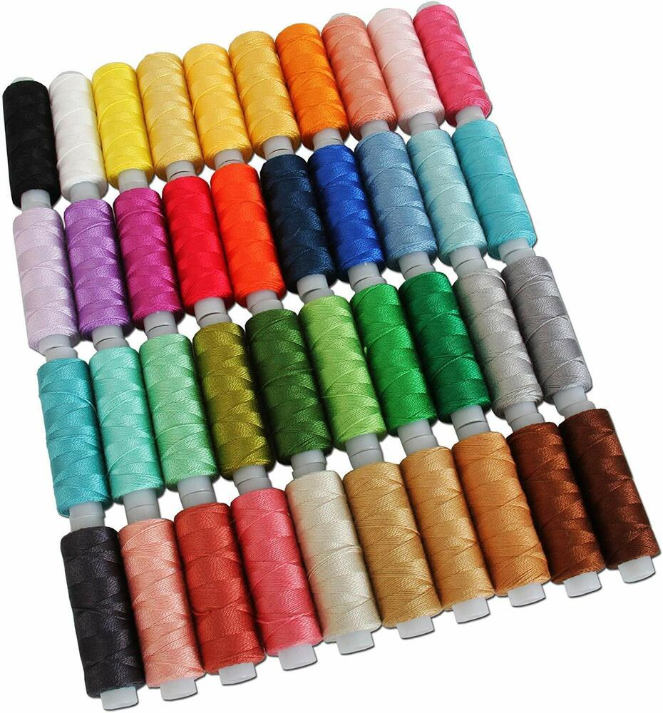 Pearl Cotton Thread 75 Yds Size 8 10g 40 Colors