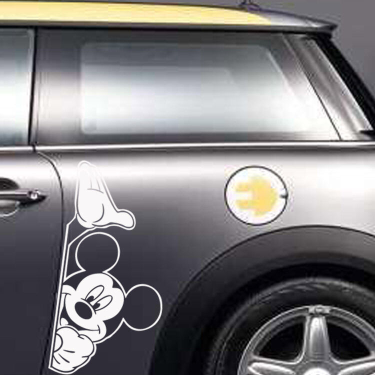 Diy Car Art : Mikey mouse waterproof car stickers auto beauty decals