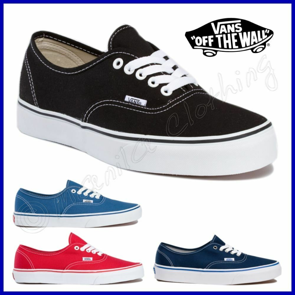VANS Scarpe AUTHENTIC Shoes TELA Vari Colori UOMO Donna NUOVE New CLASSIC -  mainstreetblytheville.org a7f19168e21