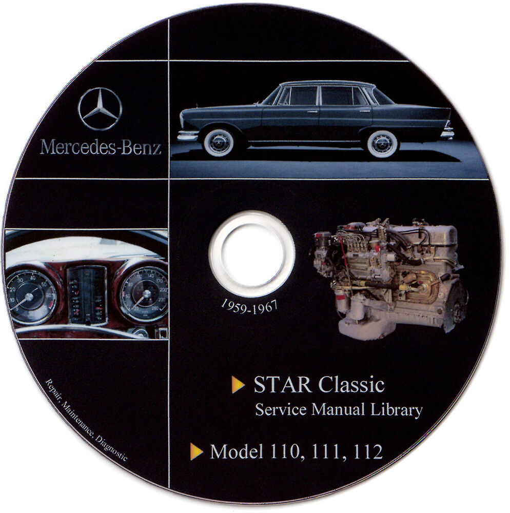 Mercedes benz w111 w110 w112 service manual repair for Mercedes benz parts catalog online free download