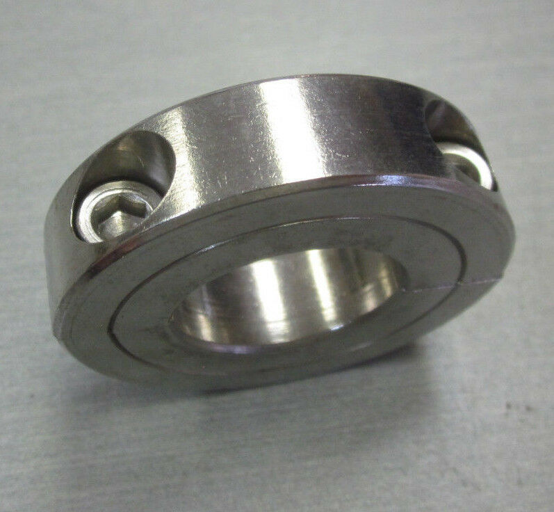Climax h c s quot stainless split piece locking collar