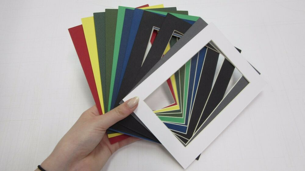 Picture Frame Mats For Postcard 3 3 8 X 5 3 8 Custom