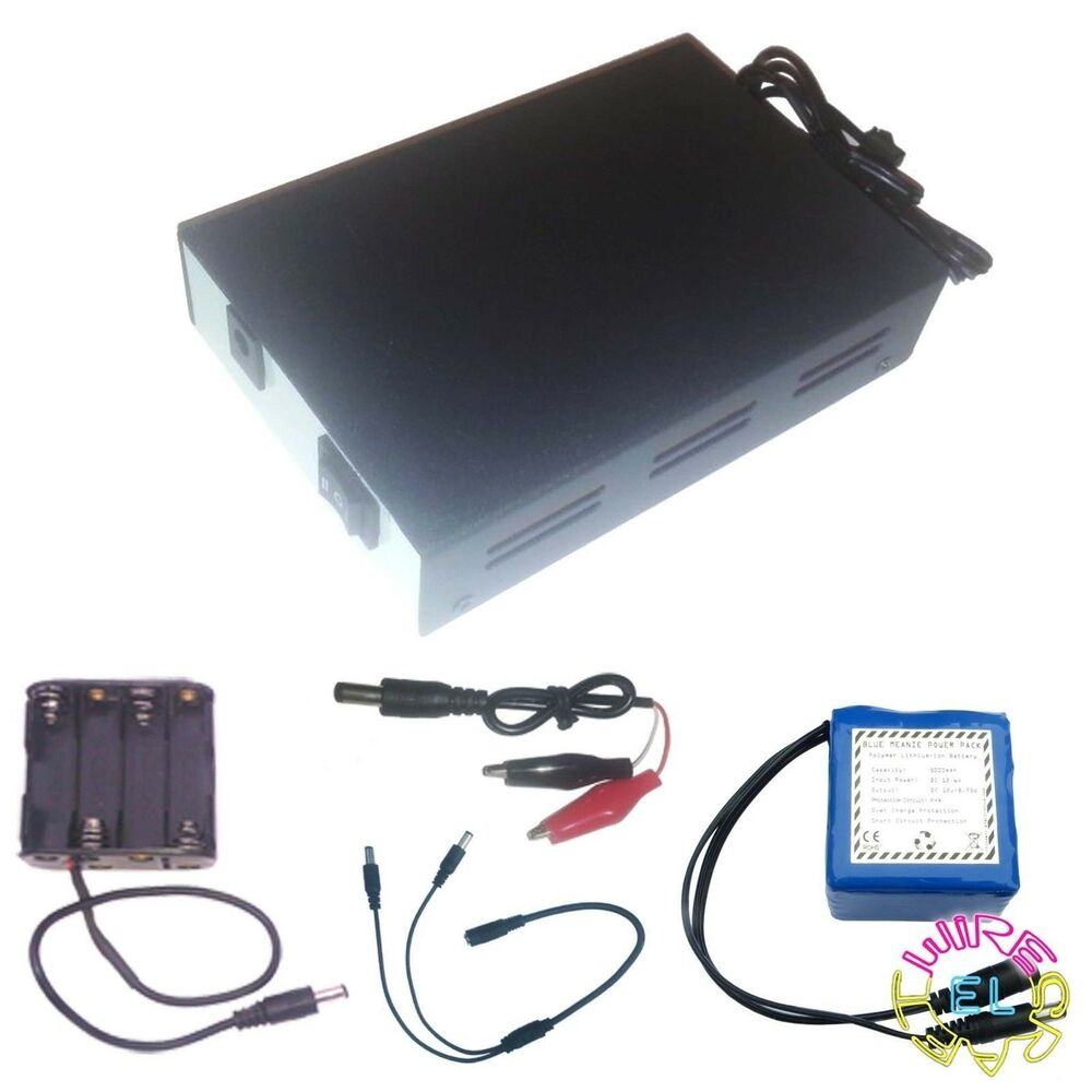 100 Metre Excel 12v Driver/Inverter for EL Wire - Powers Between 30 ...