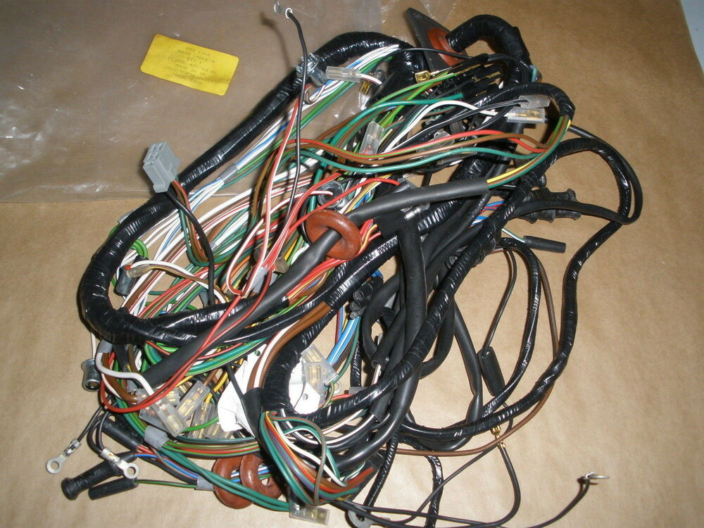 Land Rover Series Iii Wiring Harness : Genuine land rover main wiring harness rhd military series