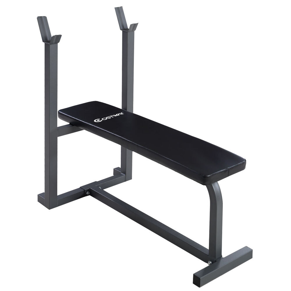 Weight Benches Bench Set For Sale Mesmerizing With Ebay: Costway Weight Lifting Flat Bench Fitness Workout Sit Up