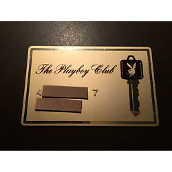 Kyпить Playboy Club 1970's vintage metal Key card  на еВаy.соm
