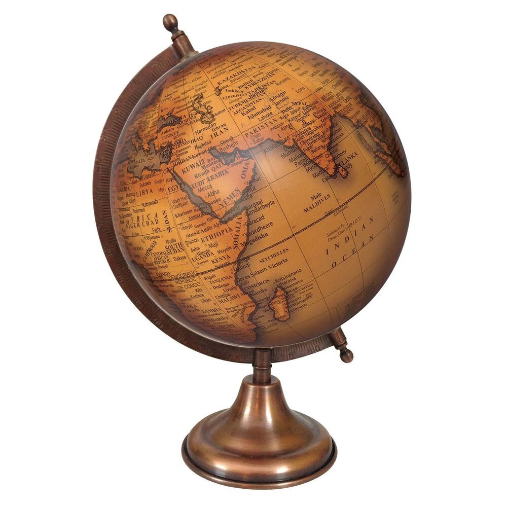 Rotating globe world geography earth big decorative ocean office table de 7779 ebay - Globe main office address ...