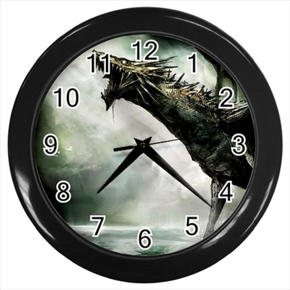 Fantasy Dragon Wall Clock Ebay