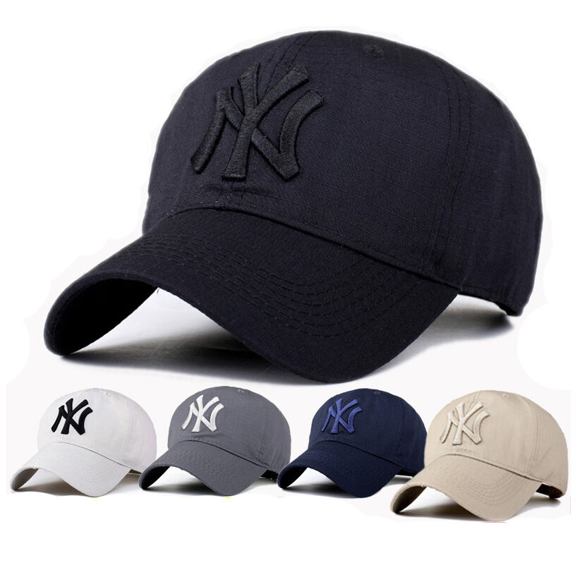 mens adjustable ny new york logo baseball hiphop