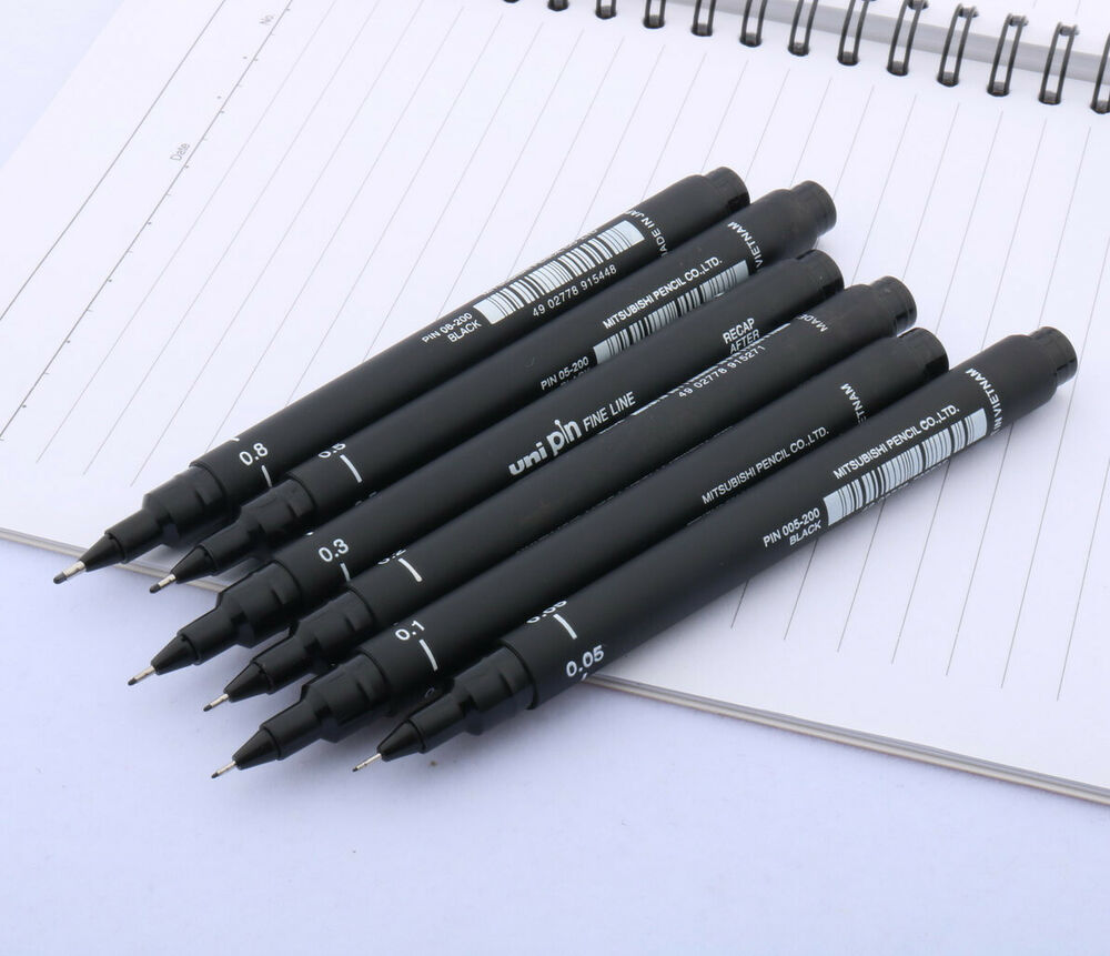 Line Art Pens : Pcs  fine line pen technical art