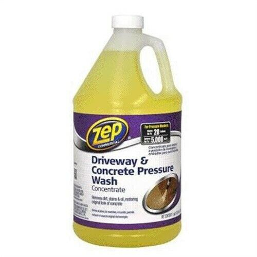 Zubmc128 zep driveway concrete cleaner pressue wash for Spray on concrete cleaner