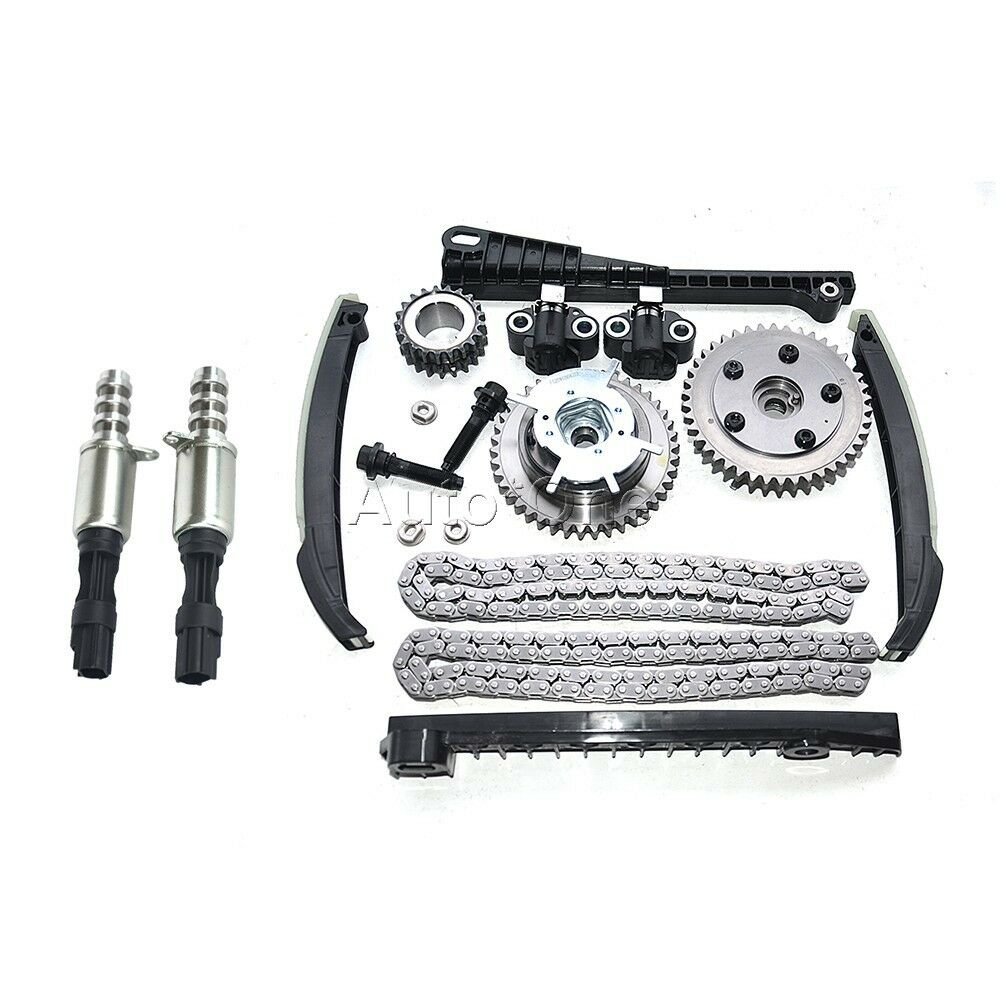 Timing Chain Kit+Phasers+VVT Valves For 2004-2011 Ford F