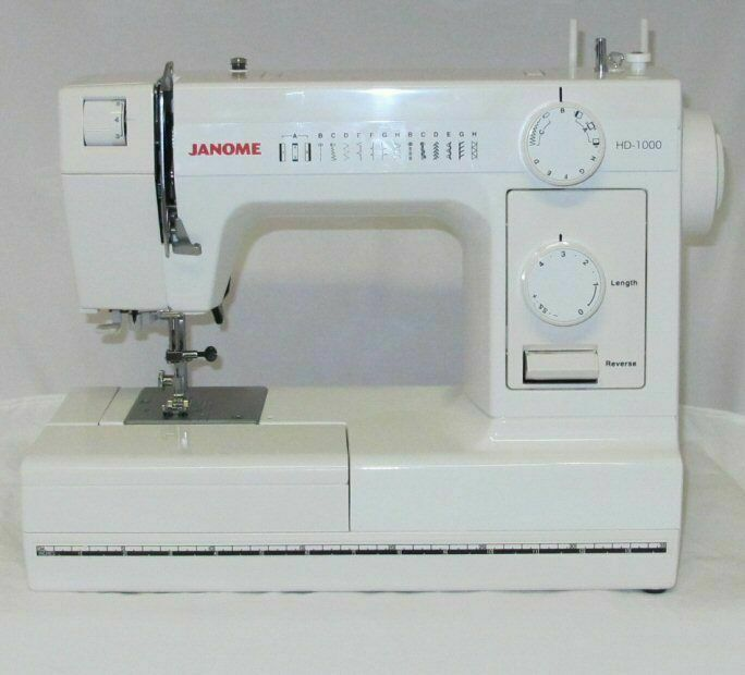 janome hd1000 black edition heavy duty commercial grade sewing machine