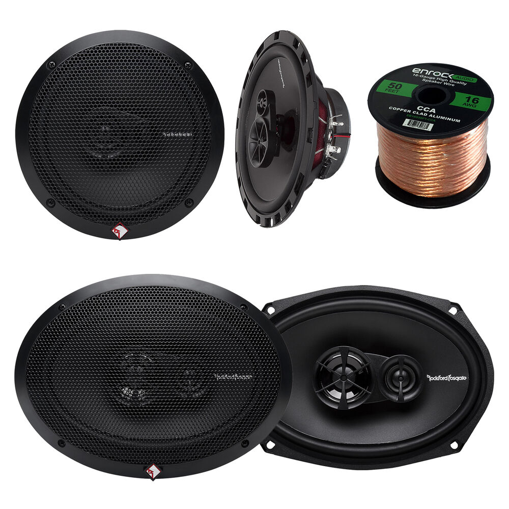 Wire For Speaker Systems : Rockford fosgate quot and inch way car
