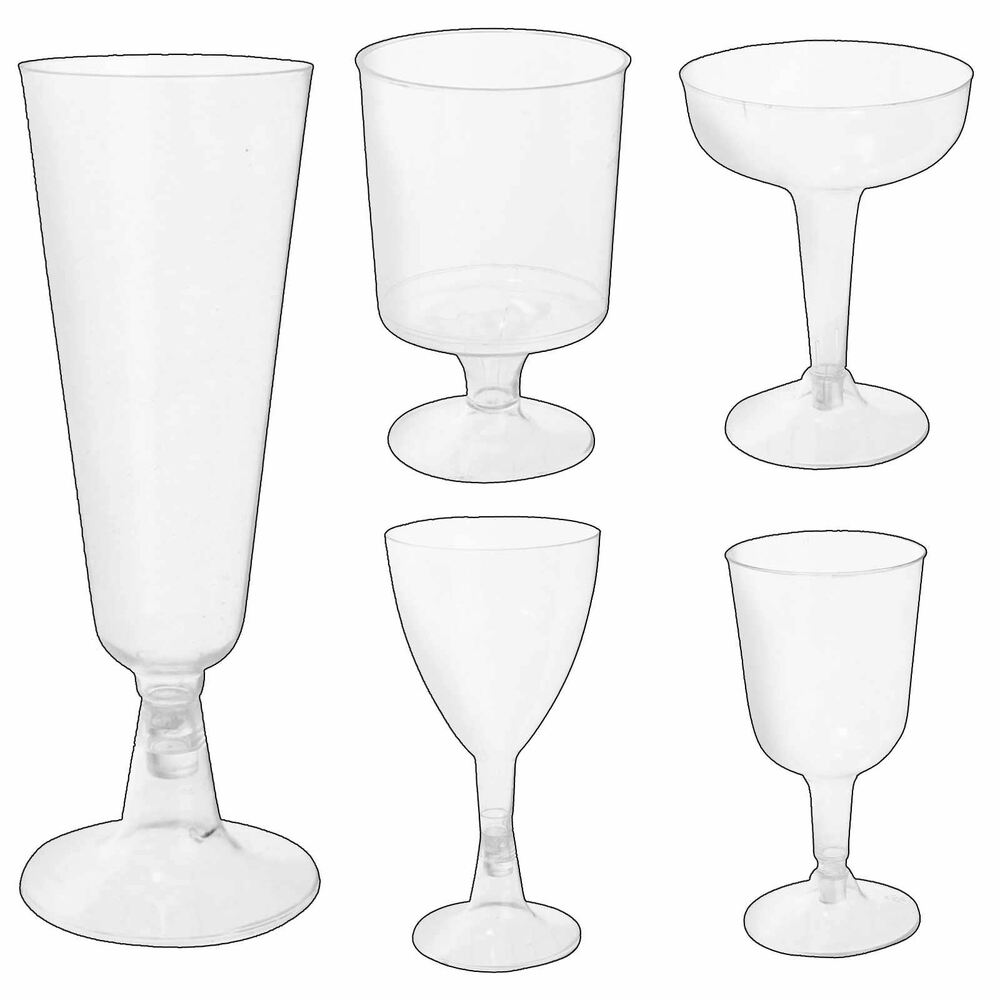 Disposable plastic wine glasses canape dishes dessert for Where to buy canape cups