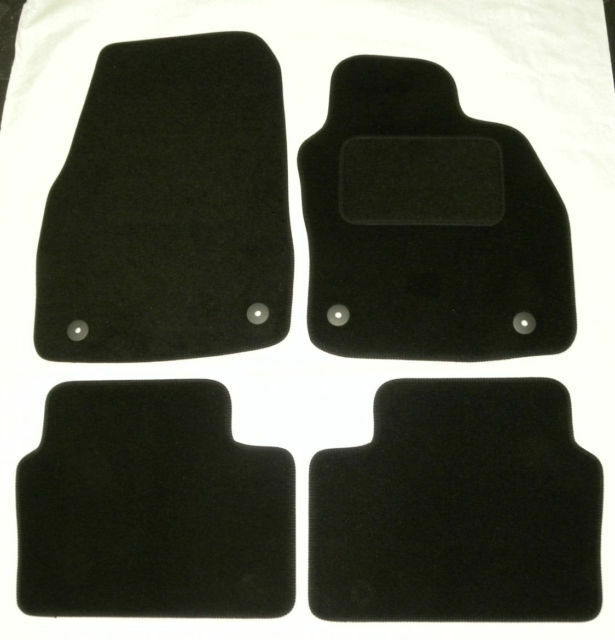black carpet car floor mats for vauxhall astra h 3 5. Black Bedroom Furniture Sets. Home Design Ideas