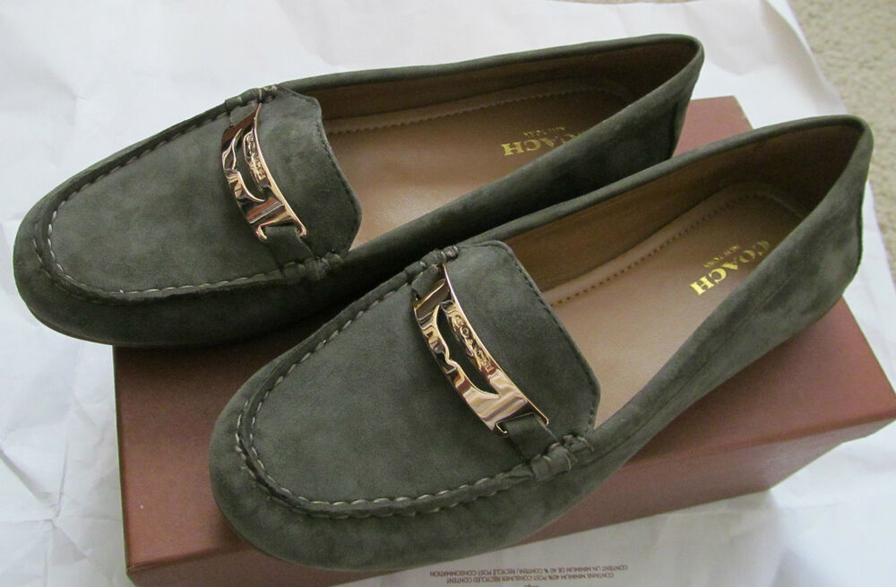 Brown Suede Coach Shoes