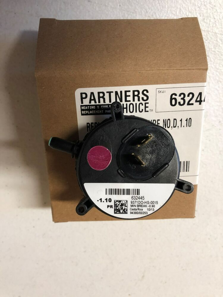 632445 Nordyne Gas Furnace Pressure Vacum Switch Factory