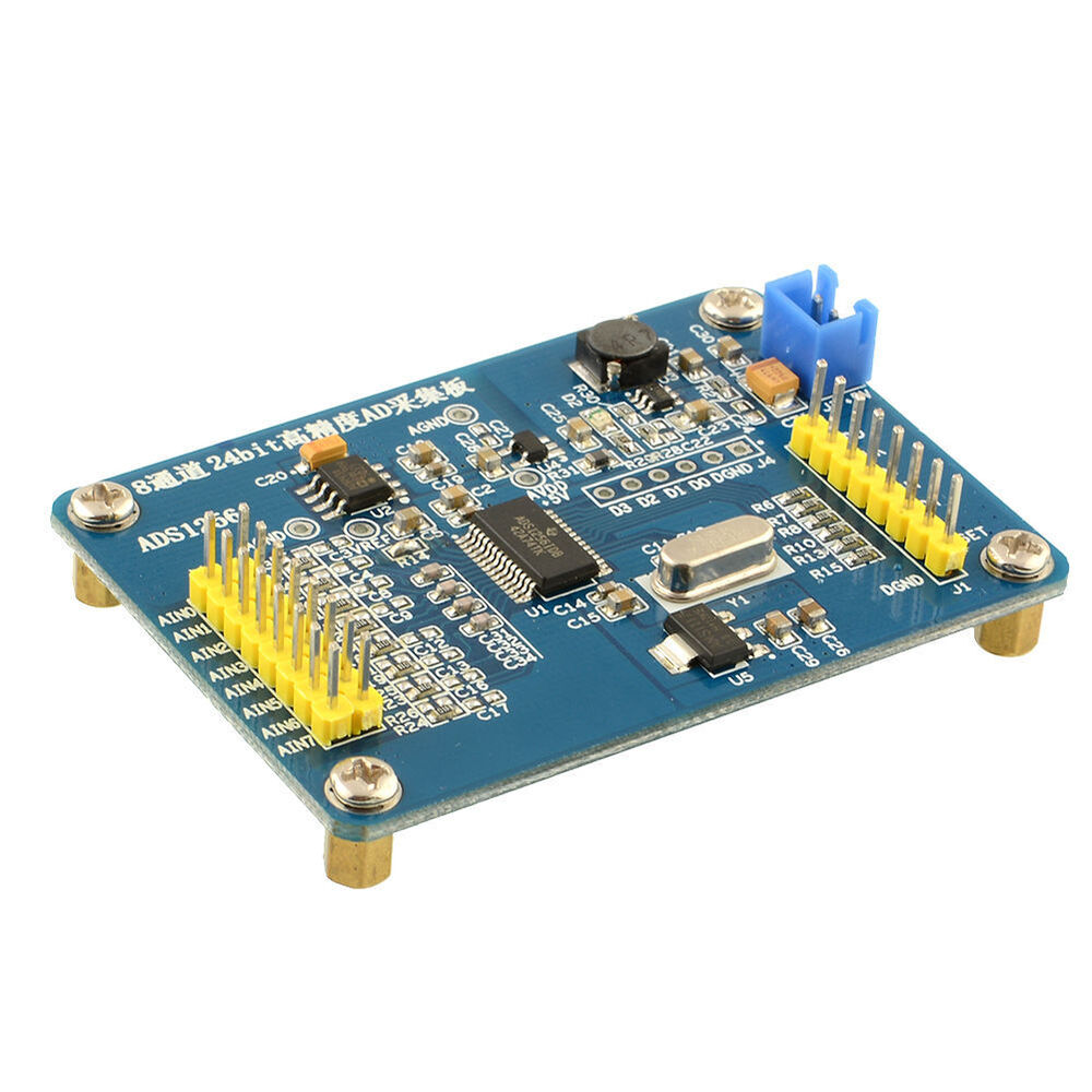 Air Conditioner Parts Air Conditioning Appliance Parts Ads 1256 Module 24-bit Adc Ad Module High Precision Adc Acquisition Data Acquisition Card 8 Channels