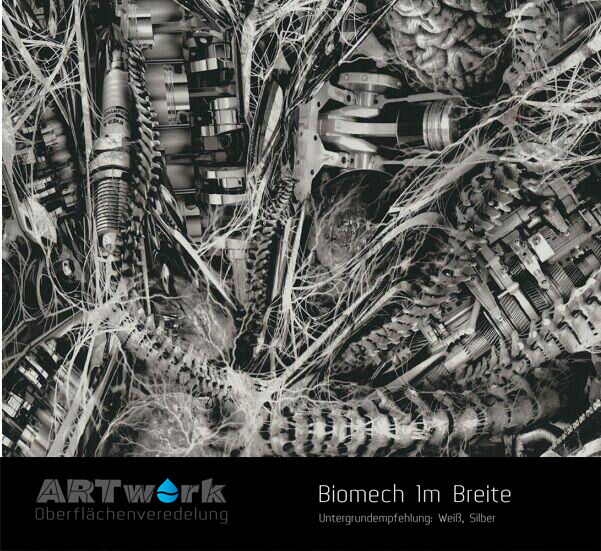 wassertransferdruck design folie giger biomech 1m x 1m breite ebay. Black Bedroom Furniture Sets. Home Design Ideas
