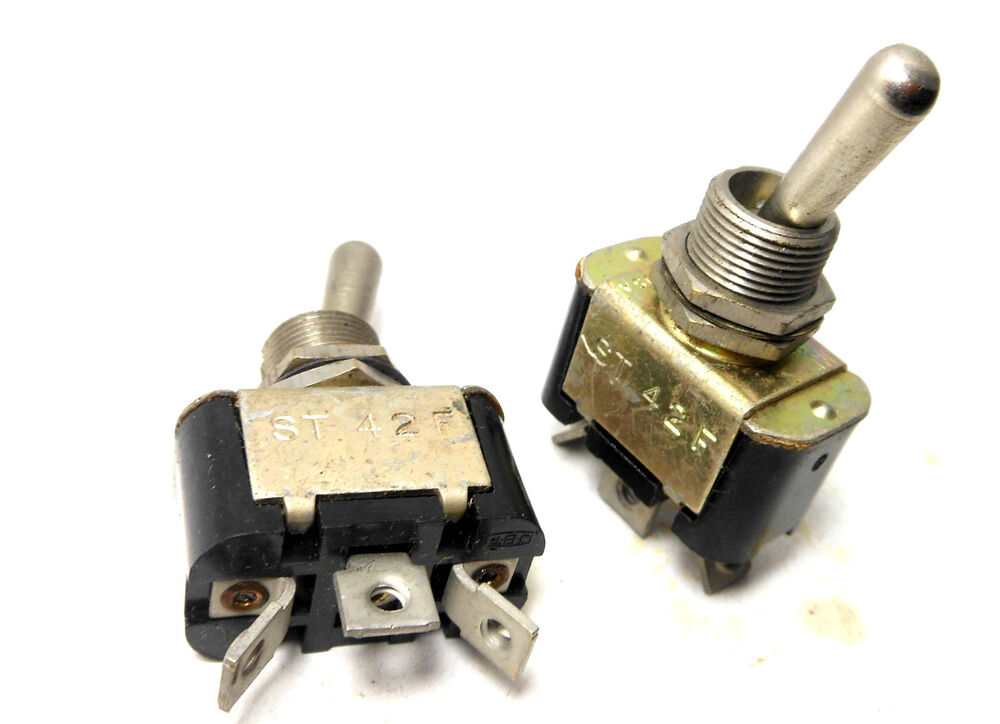 Nos Military Jbtusa Toggle Switch Spdt Momentary 15a 30vdc