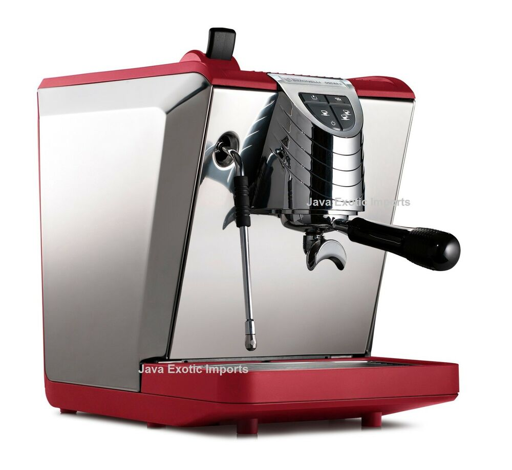 New Boiler Deals >> NUOVA SIMONELLI OSCAR II ESPRESSO MACHINE! BRAND NEW MODEL RED!! | eBay