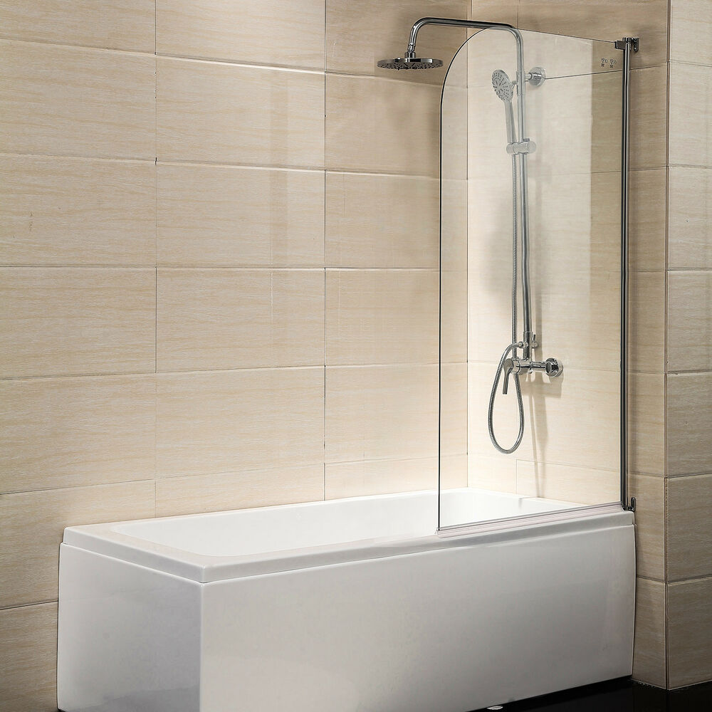 55 Quot X31 Quot Bath Shower Door 1 4 Quot Clear Glass Pivot Radius