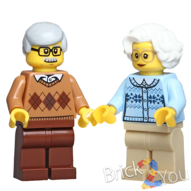 Toys For Grandparents House : Lego grandma and grandpa grandparents from fun in