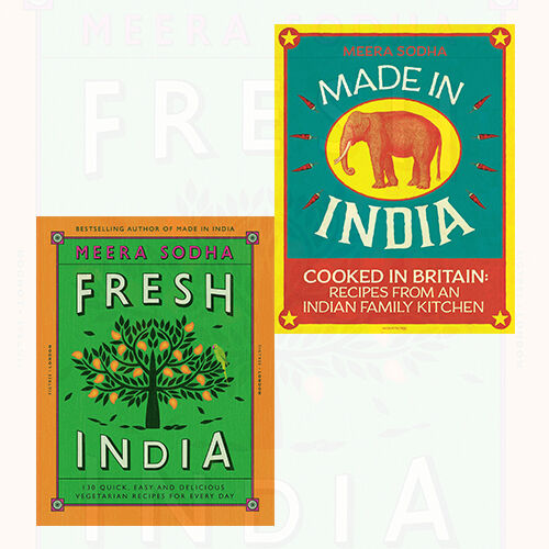Fresh India And Made In India 2 Books Collection Set By Meera Sodha
