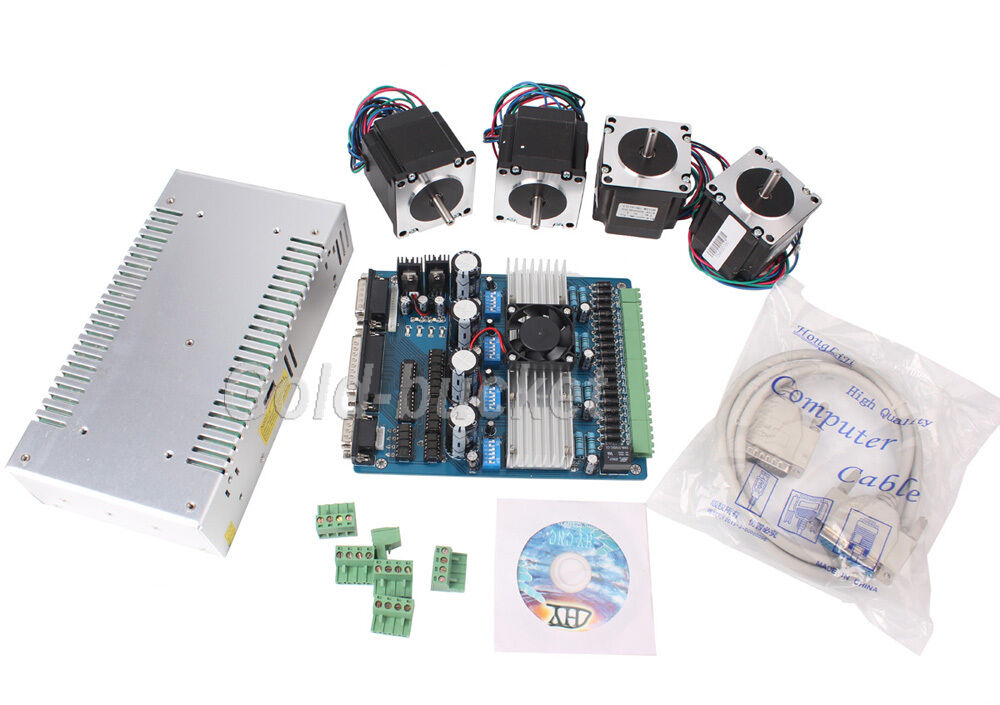 4 axis cnc stepper motor tb6560 board controller driver 4 axis stepper motor controller