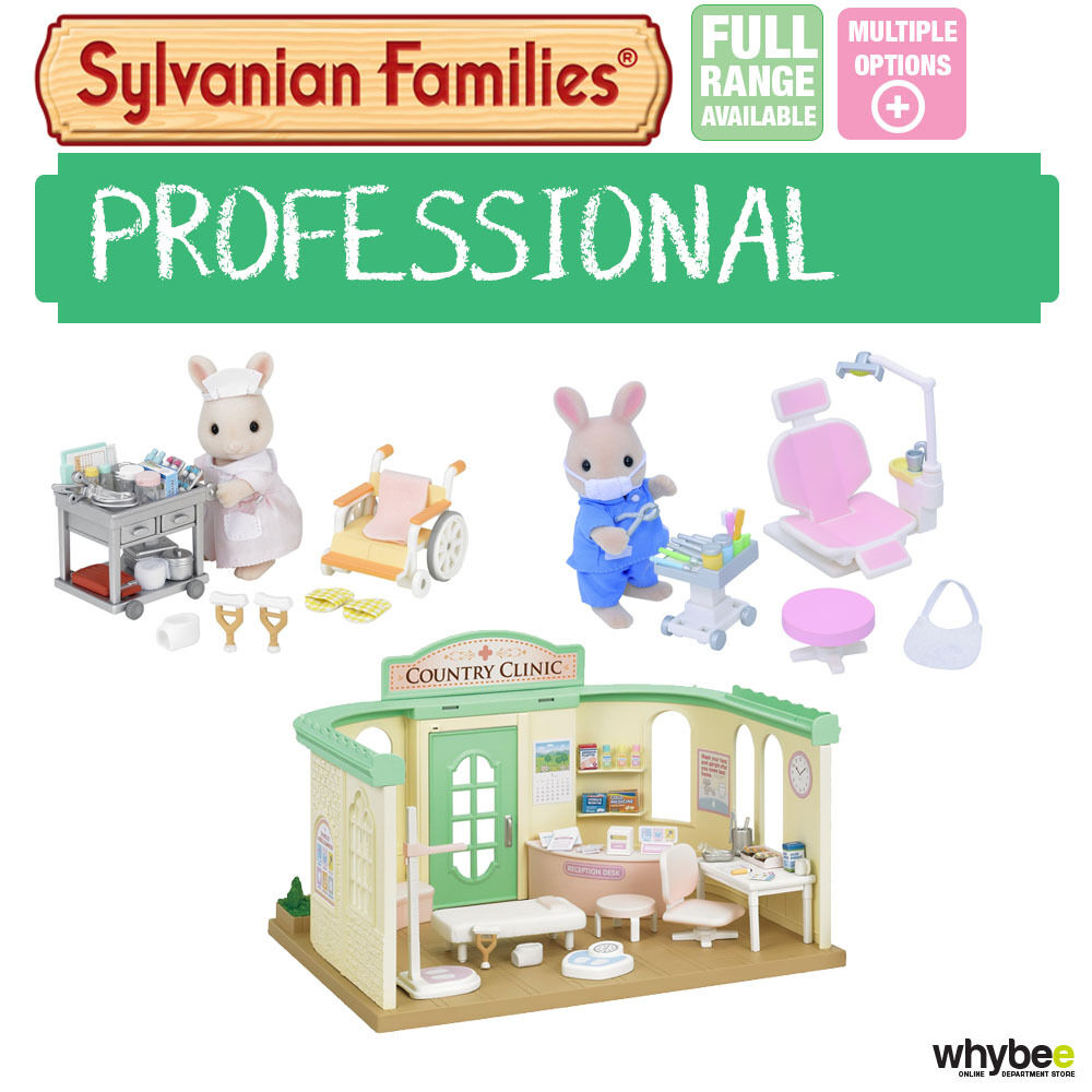 Sylvanian families dentist doctor sets range choose your - Sylvanian families cuisine ...