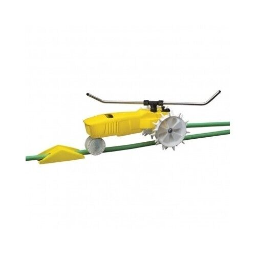 Traveling Lawn Sprinkler Tractor : Tractor sprinkler system automatic traveling lawn grass