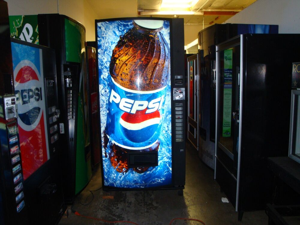 vendo multi price soda vending mach 12 16 20 oz pepsi coke 10 selection ebay. Black Bedroom Furniture Sets. Home Design Ideas