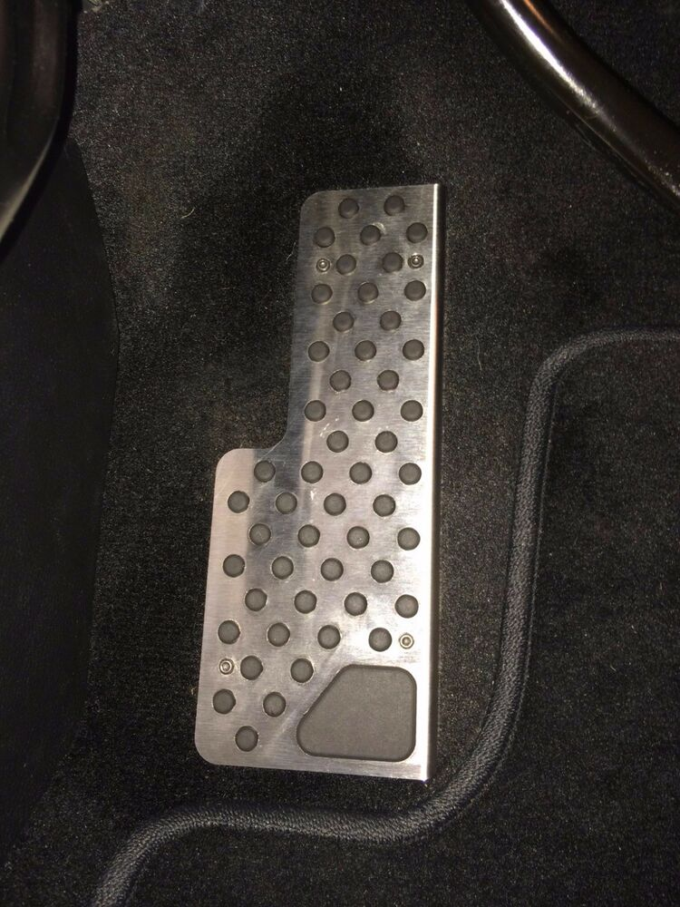 Dodge Durango Dead Pedal Footrest Cover Suit 2011 On To