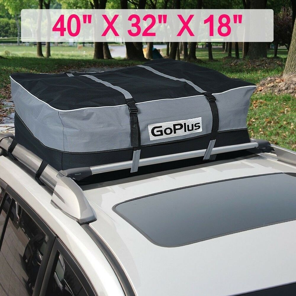 car van suv roof top waterproof luggage travel cargo rack storage bag carrier ebay. Black Bedroom Furniture Sets. Home Design Ideas