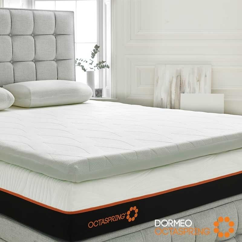 dormeo octaspring body zone mattress topper king size bed. Black Bedroom Furniture Sets. Home Design Ideas